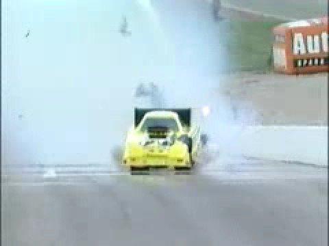 Al Hoffman Blows Up 2001 Las Vegas NHRA