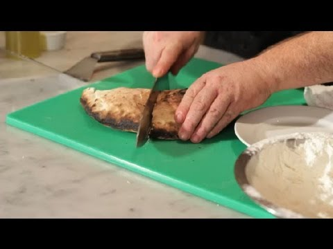 Fresh Spinach & Cheese Calzone Pizza Recipe