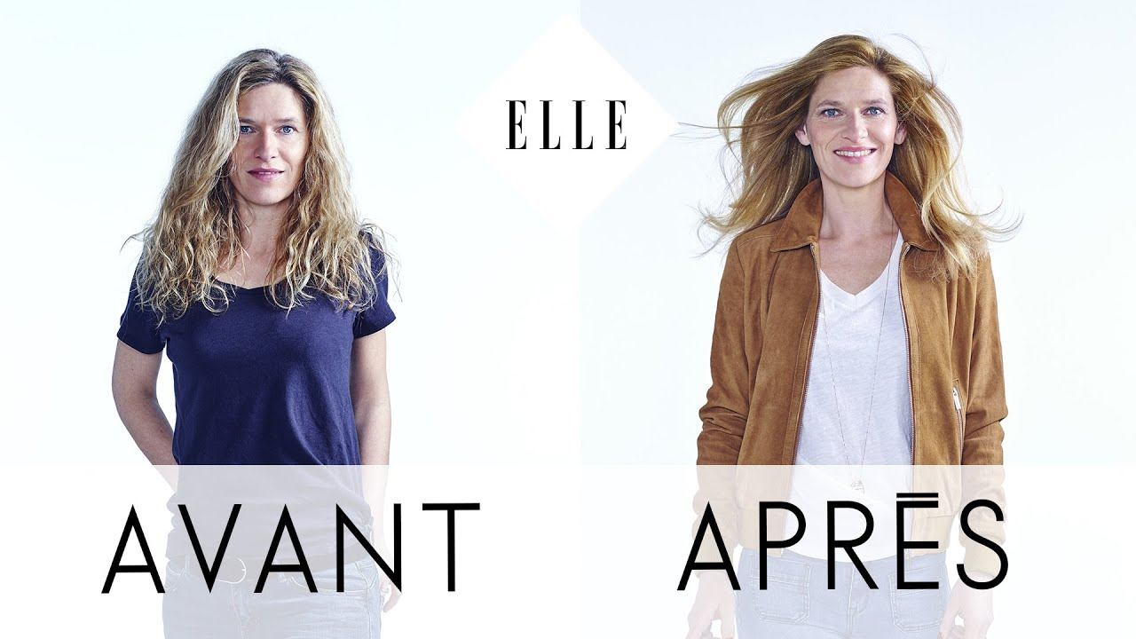 Avant apr s anne 44 ans i elle relooking youtube for Relooking salon avant apres