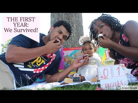 How we Survived our First Year as Parents! Unplanned pregnancy| Co-Parenting| Struggles/Rewards!