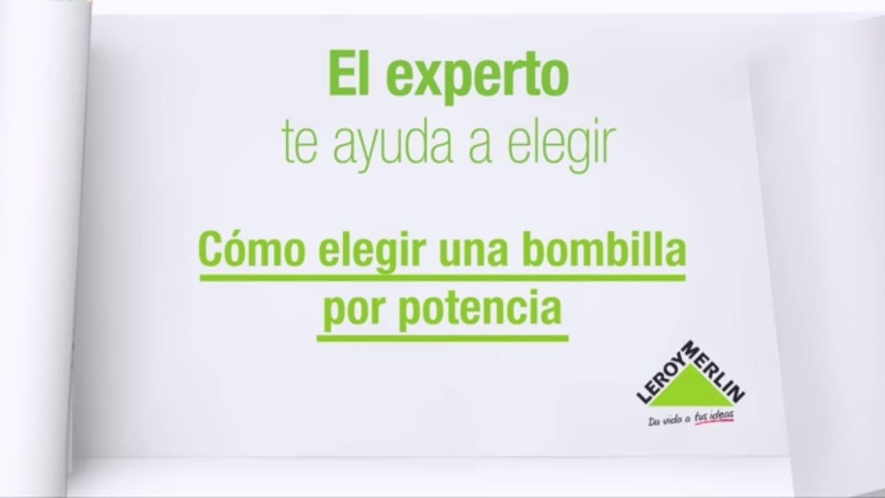 C mo elegir una bombilla leroy merlin youtube for Guirnalda bombillas leroy merlin