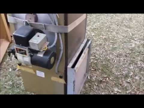 oil furnace hook up