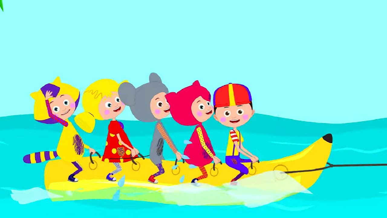 Кукутики - ЛЕТО - Большой сборник - Песни и мультики для детей малышей