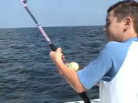 Blue fishing off belmar new jersey youtube for Belmar nj fishing