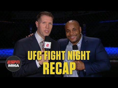 [SPOILER] Brendan Fitzgerald & Daniel Cormier ESPN FN25 | UFC Fight Night Recap | ESPN MMA