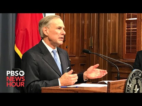 WATCH: Texas Governor Greg Abbott Gives Coronavirus Update -- March 26, 2020