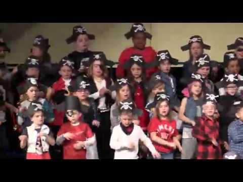 """Amery Lien Elementary School presents """"A Pirate's Life"""""""