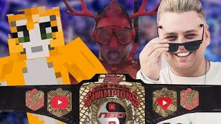 Nick Crompton w/Jake Paul vs Stampy w/ Iballisticsquid | Team 10 Beat the Clock | WWE 2K18 thumbnail