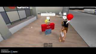 SHOWING YOU MY JOB! || Roblox Target
