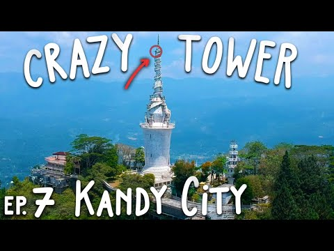 Kandy Sri Lanka | INCREDIBLE Temples & Climbing Adam's Peak | Travel Sri Lanka on $1000