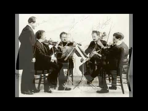 Flonzaley String Quartet : Sally in our Alley (Old English Tune) - 1929