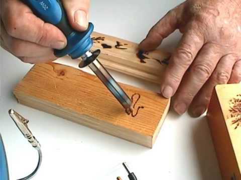Pyrograph for wood, polystyrene, cork and leather from YouTube · Duration:  2 minutes 48 seconds