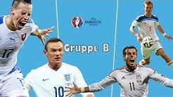 EM 2016 - Gruppe B - Analyse & Tipps - England, Wales, Russland, Slowakei