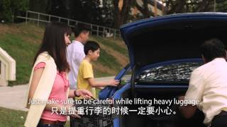 ComfortDelgro Taxi Cabbie Exercise Video
