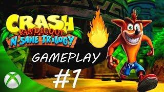 Crash Bandicoot N. Sane Trilogy ❤️ GAMEPLAY PL #1 Odcinek | XBOX ONE X