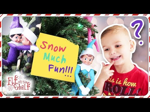 Elf on the Shelf Controls my Day! | Elf On The Shelf Left a MESSAGE!