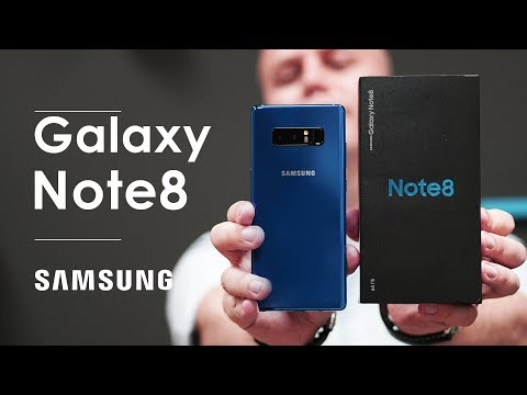 Психанул и купил Galaxy Note 8: мнение об iPhone X, распаковка, сравнения (unboxing & versus)