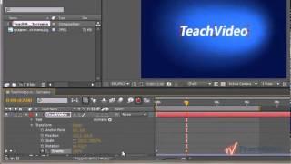 Эффект появления в Adobe After Effects CS5 (5/20)