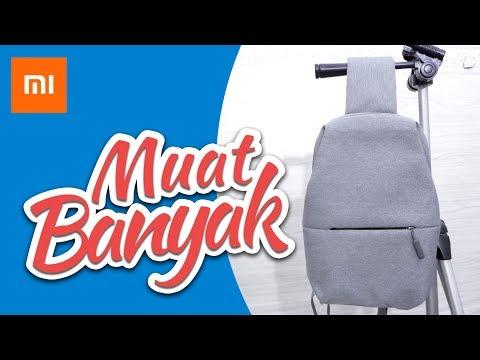 REVIEW Xiomi Mi City Sling Bag Indonesia 2018 : Kekenian & Zaman NOW | MirdasDas