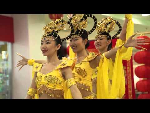 Китайский Новый Год в Торговом Центре Калужский