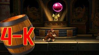 Donkey Kong Country Returns 3D: World 4-K Jagged Jewels