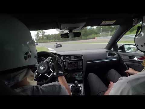 VW Golf GTI Clubsport S at Bilster Berg