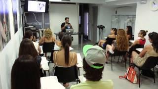 Masterclass de Fotografía para la Escuela de Maquillaje Aarón Blanco