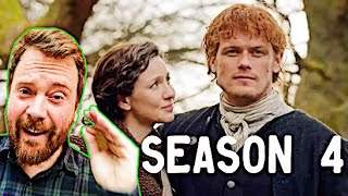 Outlander Season 4 Official Trailer SCOTTISH REACTION