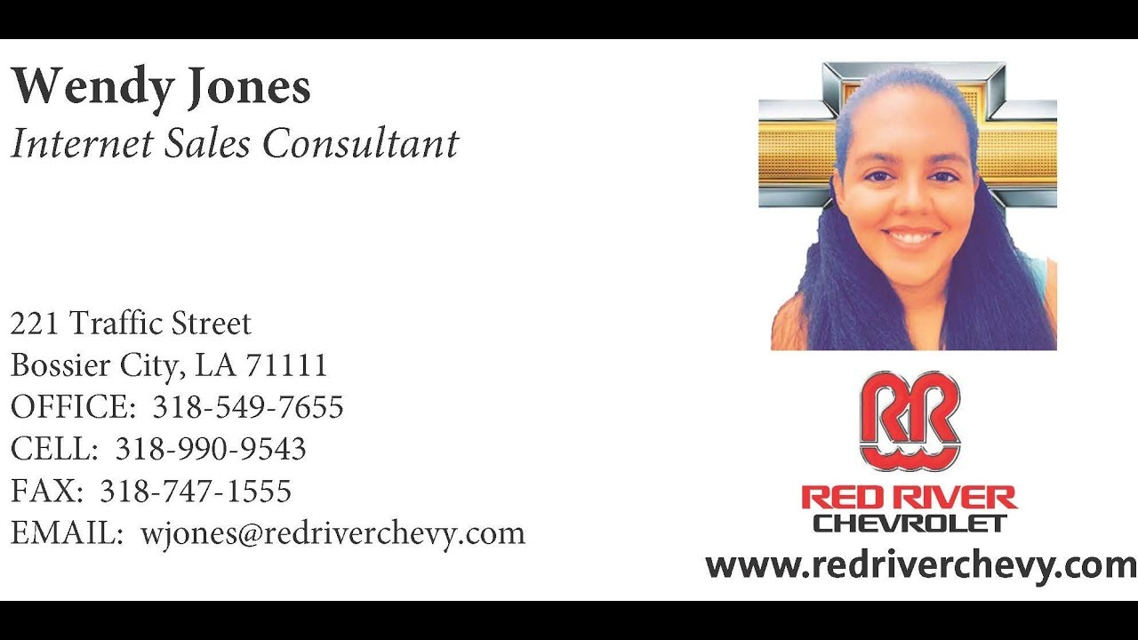 Wendy Jones At Red River Chevrolet Happy Customers