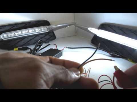 iJDMTOY Direct Fit LED Daytime Running Lamp Installation Walk-Through