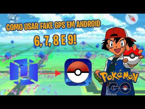 FAKE GPS COM JOYSTICK PARA ANDROID 6,7,8 E 9 COM VMOS NO POKÉMON GO 2019!