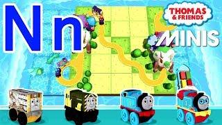 Nn — Thomas ve Arkadaşları Mini ile Öğrenmek Akk Kendi mektup 'Senin'N'' Tren yolu İnşa Verilmiştir.