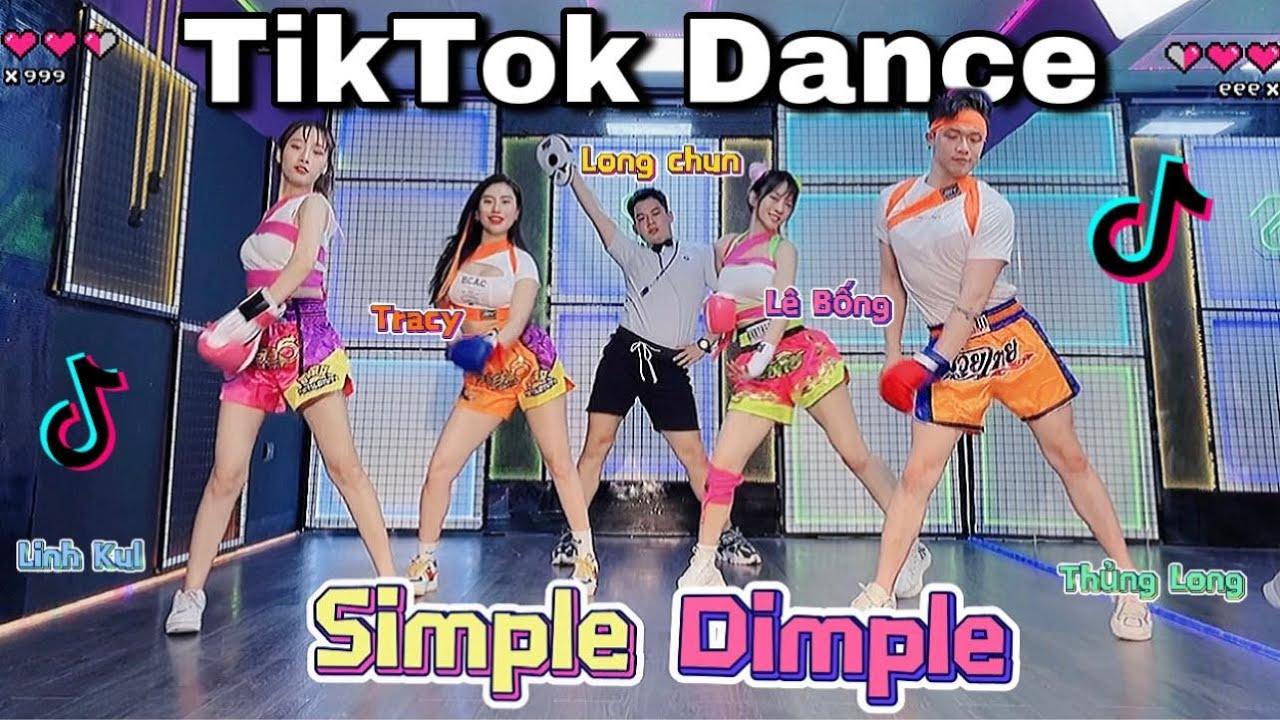 TIKTOK DANCE   SIMPLE DIMPLE SONG   Long Chun x Trang Lê  x Thủng Long  x Linh Kul   Lê Bống Channel