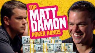 Matt Damon Best Poker Hands from the WSOP screenshot 3