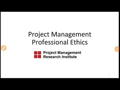 Professional Ethics Of Project Managers