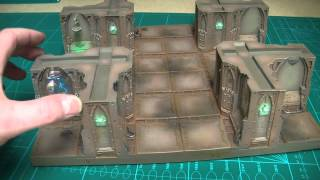 Zone Mortalis Set Gaming Table ~ Sector 1 Complete ~ Part 2.