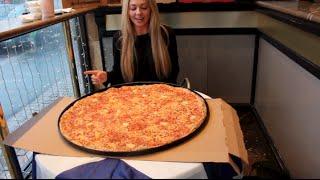 27 Inch Pizza Challenge - BIGGEST PIZZA in SCOTLAND