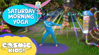 Fairy Floss and friends: Saturday Morning Yoga 🧚 | Cosmic Kids