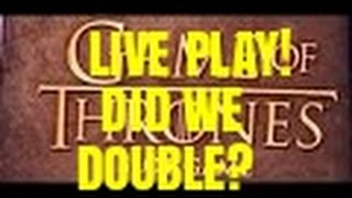 LIVE PLAY WITH GREG ON GAME OF THRONES SLOT MACHINE-BONUSES(Game of thrones slot machine bonus-fun with Greg at Cosmopolitan Like Vegas Slot Videos by Dianaevoni on Facebook: ..., 2016-09-13T22:01:44.000Z)