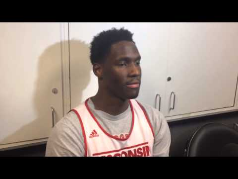 Nigel Hayes discusses keys to Arizona game | The Badger Herald