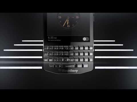 Blackberry Porsche Design P'9983 Commercial Teaser