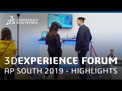 3DEXPERIENCE FORUM Asia Pacific South 2019 in Thailand - Highlights - Dassault Systèmes