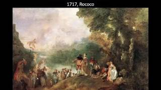 Art 201: Rococo Style and the 18th Century