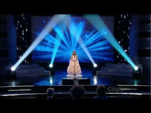 Jackie Evancho - Angel - Canada's got Talent