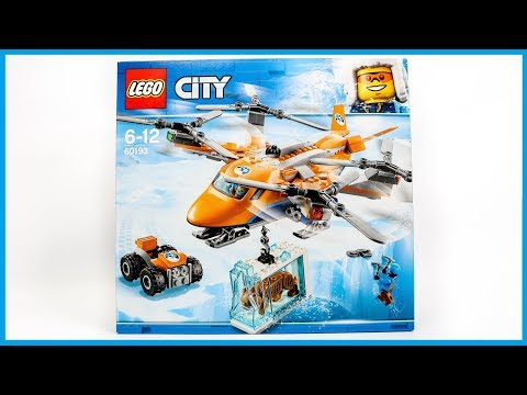 UNBOXING LEGO 60193 City Arctic Expedition Helicopter Construction Toy
