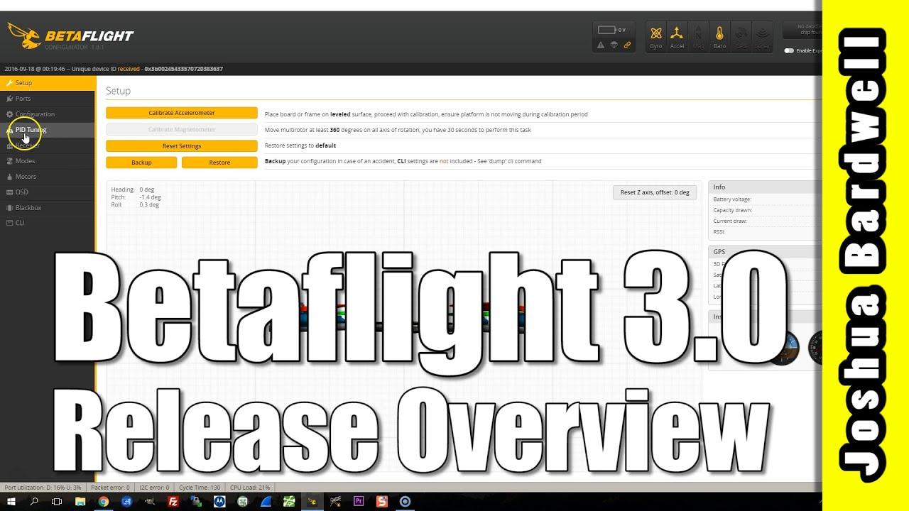 betaflight 3.0.1