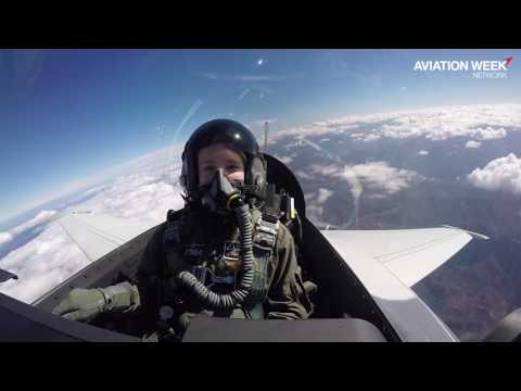 Aviation Week Rides in Lockheed's T-50A Pilot Trainer