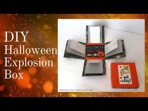 DIY Halloween Explosion Box | Beginner Tutorial | Amanda Kuhlman thumbnail