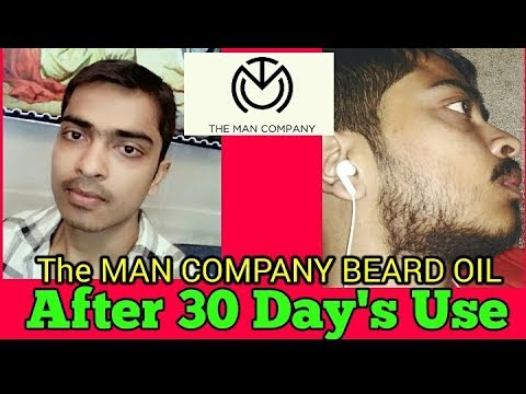 Almond and Thyme Beard oil | The Man Company (Hindi) | Review,