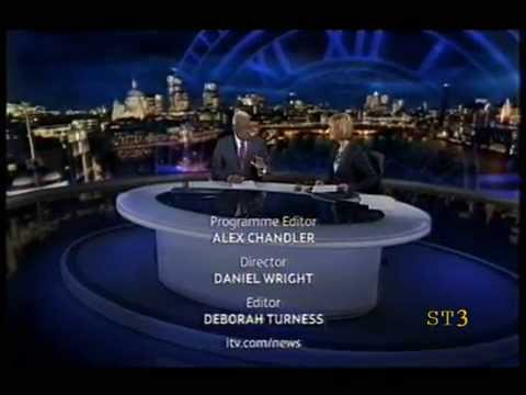 News at Ten (End of) ITV National Weather 17-09-08
